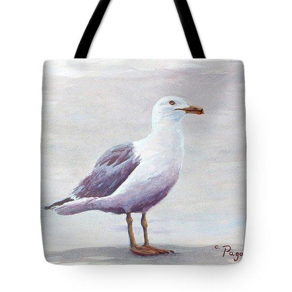 Seagull Tote Bag by Chriss Pagani