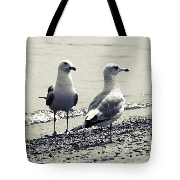 Seagull Pair Tote Bag