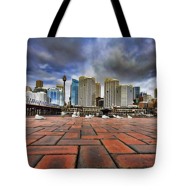 Seagull's Perspective Tote Bag by Douglas Barnard