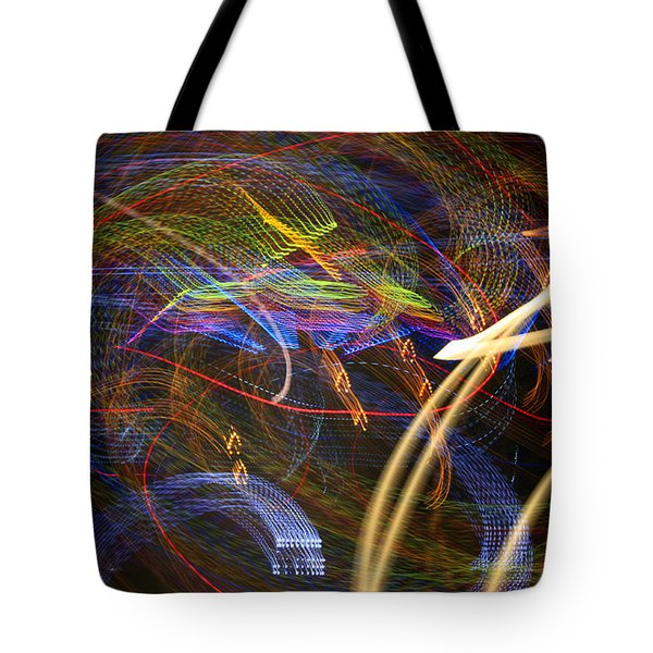 Seance Swirl Tote Bag by Todd Breitling