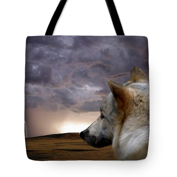 Searching For Home Tote Bag by Bill Stephens