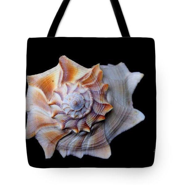 Tote Bag featuring the photograph Seashell 1 by Deniece Platt