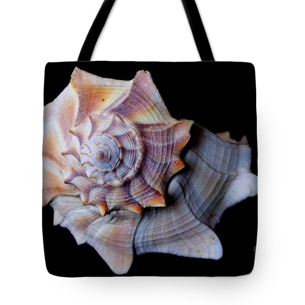Tote Bag featuring the photograph Seashell 5 by Deniece Platt