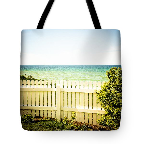 Tote Bag featuring the photograph Seaside Retreat by Sara Frank