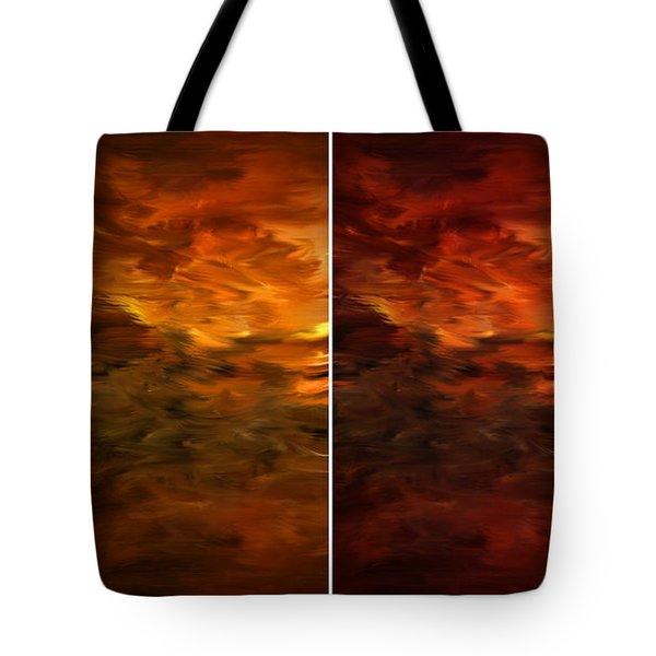 Seasons Change Tote Bag by Lourry Legarde