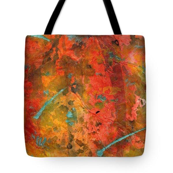 Seasons Of Joy Tote Bag by Angela L Walker