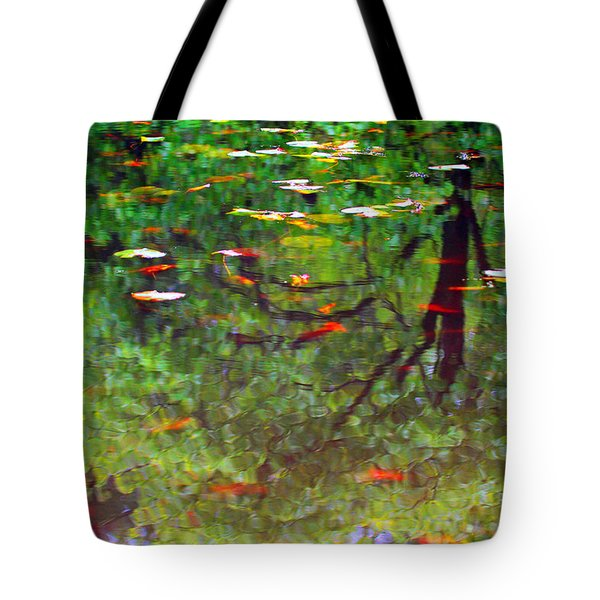 Seasons Reflect Tote Bag by Karol Livote