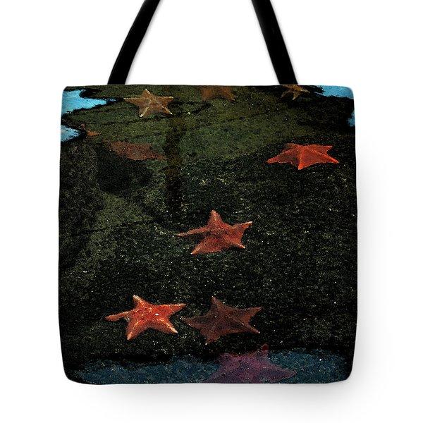 Seastars Tote Bag