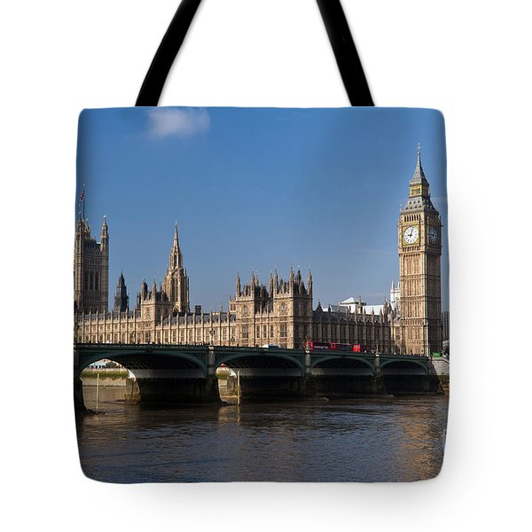 Seat Of The Empire Tote Bag
