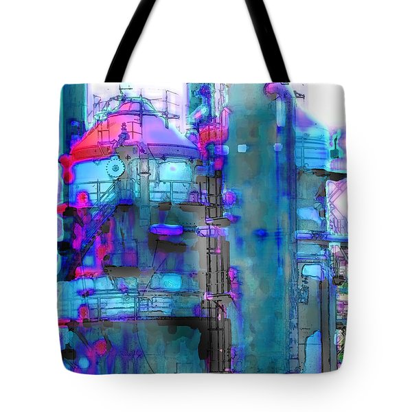 Seattle Gas Tower 2 Tote Bag