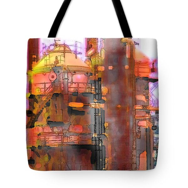 Seattle Gas Tower Tote Bag