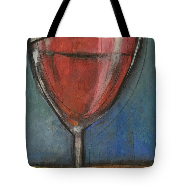 Second Glass Of Red Tote Bag by Tim Nyberg