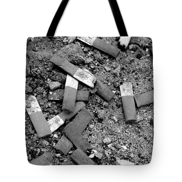 Secondhand Smoke Tote Bag by Lisa Phillips
