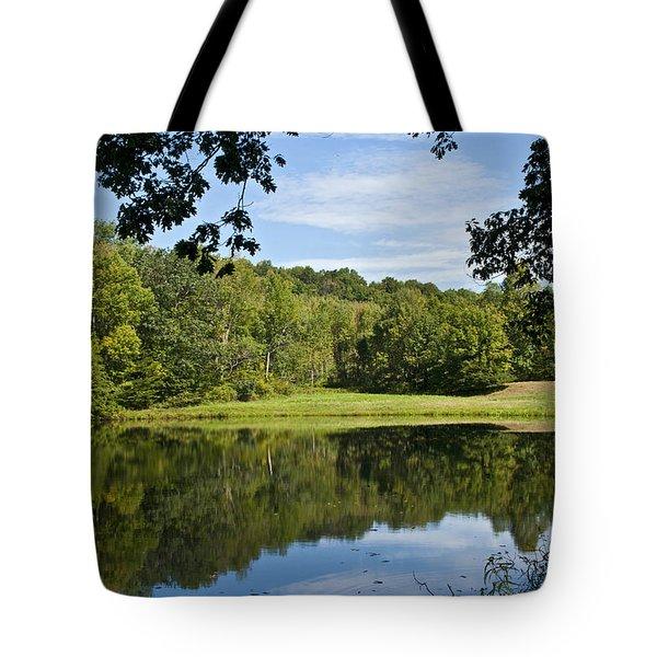 Secret Fishing Hole Tote Bag