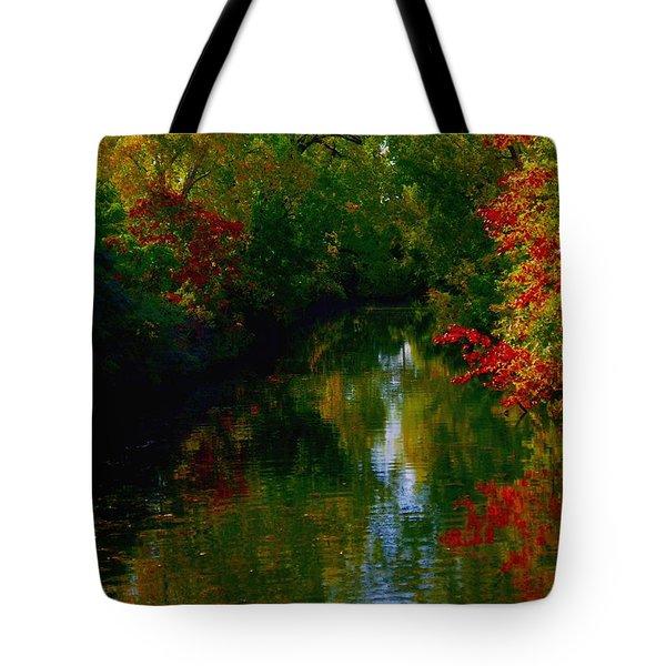 Secret Horse Creek Tote Bag by Contemporary Luxury Fine Art