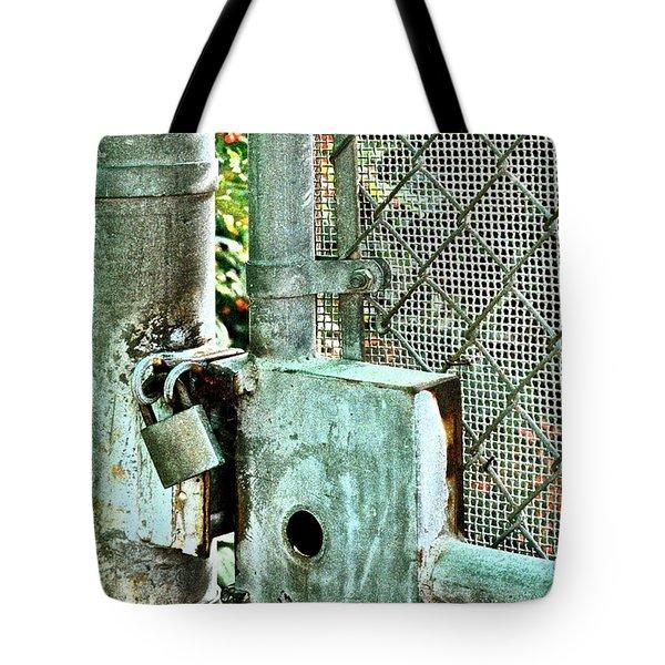 Secure Tote Bag by Gwyn Newcombe