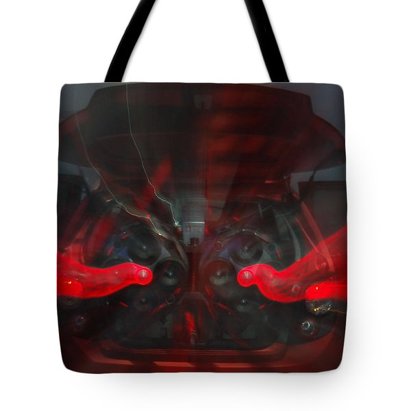 See The Music 2 Tote Bag by Randy J Heath