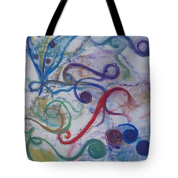 Seedpods In A Breeze Tote Bag by Claudia Smaletz