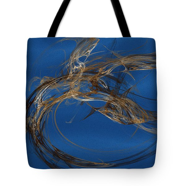 Tote Bag featuring the digital art Selbstvertrauen by Jeff Iverson