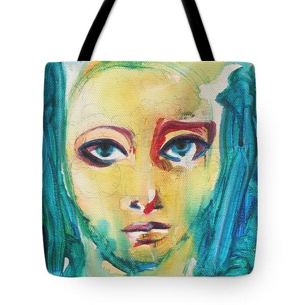 Self Portrait I  Tote Bag by Sheridan Furrer