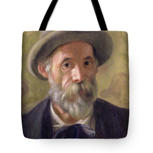 Self Portrait Tote Bag by Pierre Auguste Renoir