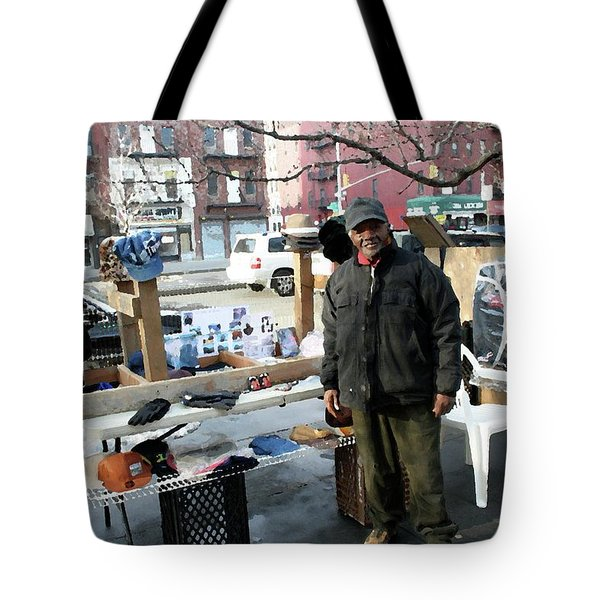 Selling My Wares Tote Bag by Terry Wallace