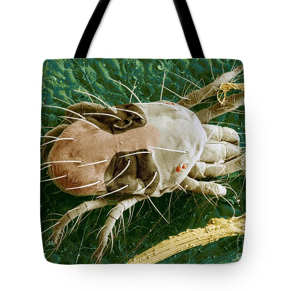 Sem Of Two-spotted Spider Mite Tote Bag by Science Source