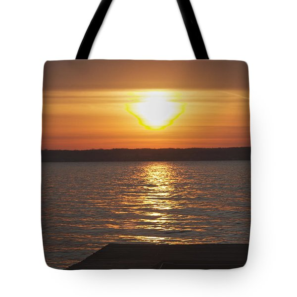 Tote Bag featuring the photograph Seneca Lake by William Norton