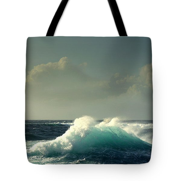 Sennen Surf Seascape Tote Bag by Linsey Williams