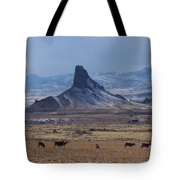 Sentinels Tote Bag by Dorrene BrownButterfield