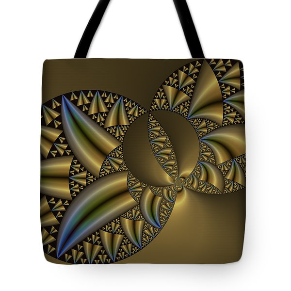 Tote Bag featuring the digital art Senza Fine by Manny Lorenzo