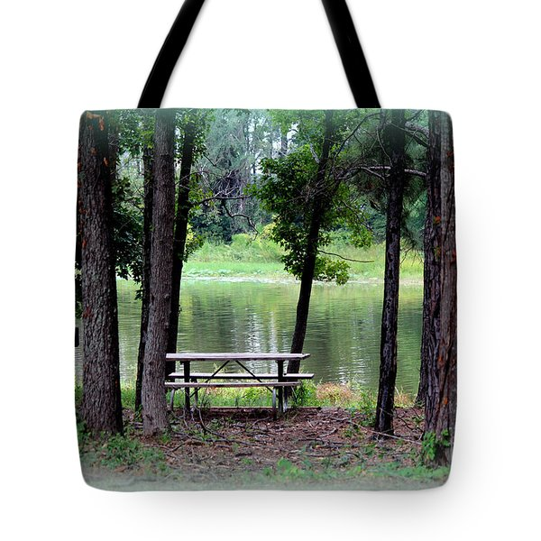 Tote Bag featuring the photograph Serene Escape by Kathy  White