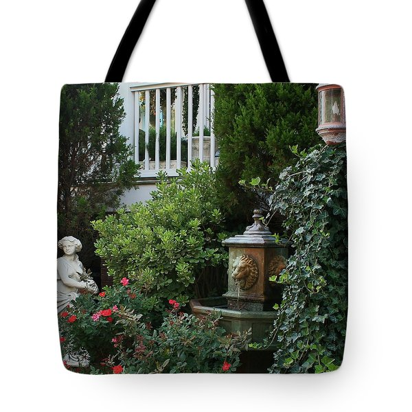 Serene Tote Bag by Karen Harrison