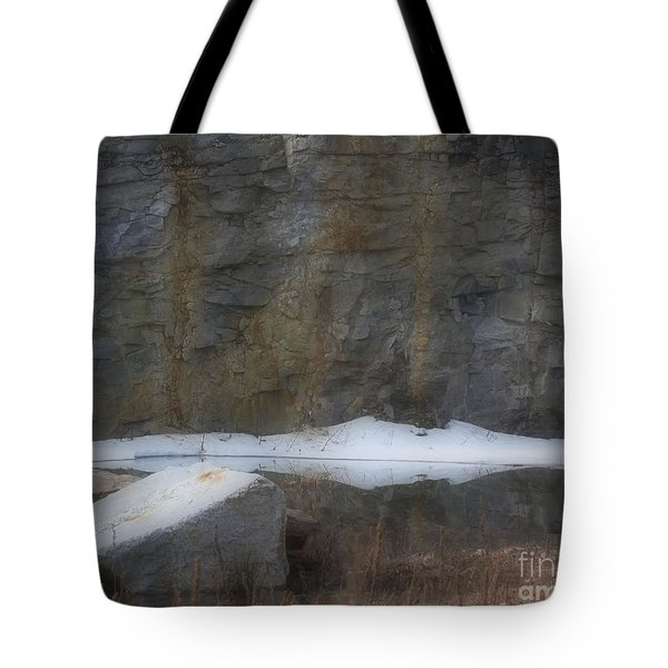 Serene Reflections In Spring Tote Bag