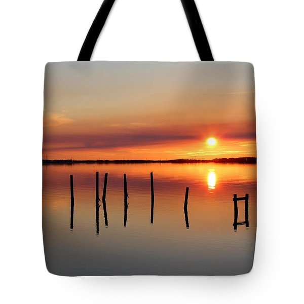 Serene Sound Tote Bag