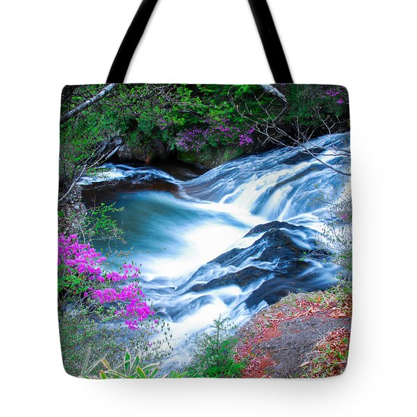 Serenity Flowing Tote Bag
