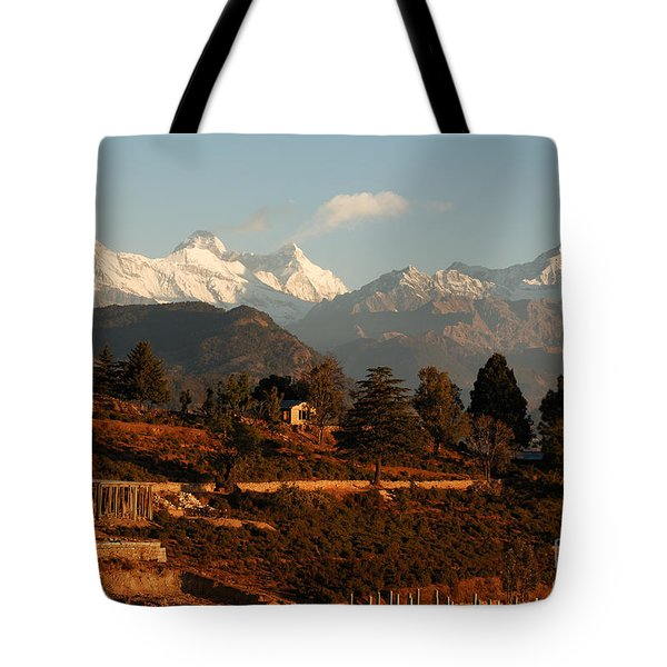 Serenity Tote Bag by Fotosas Photography