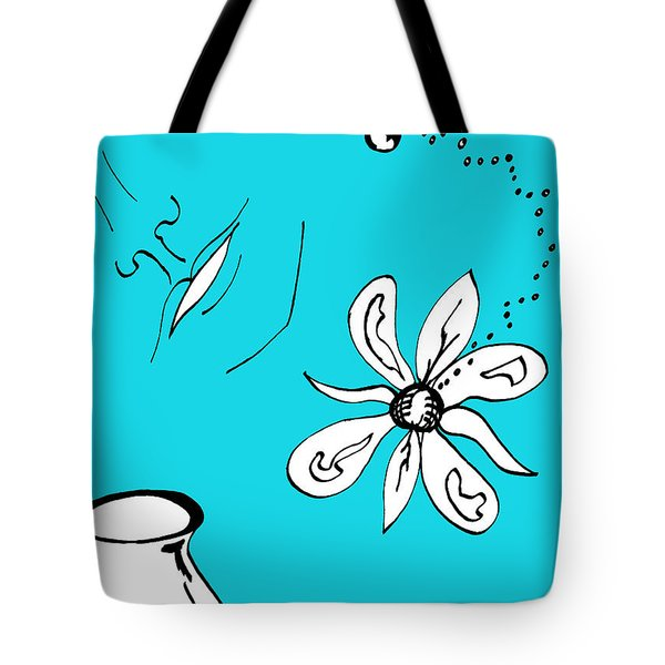 Serenity In Blue Tote Bag