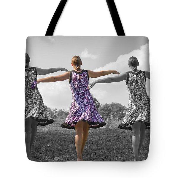 Seven  Tote Bag by Betsy Knapp