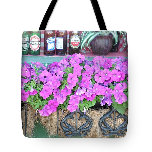 Seven Bottles Of Beer On The Wall Tote Bag by Jan Amiss Photography