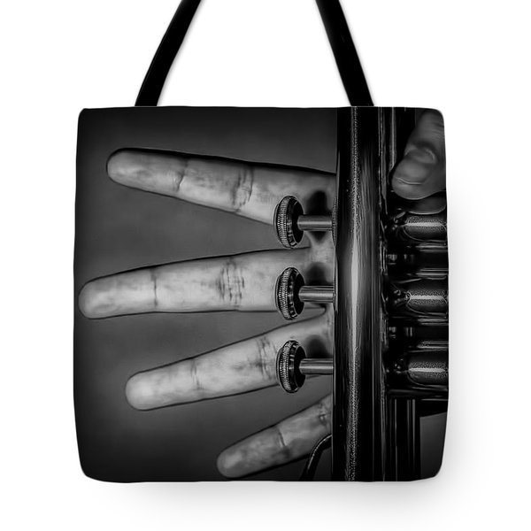 Tote Bag featuring the photograph Sforzando by Tom Gort