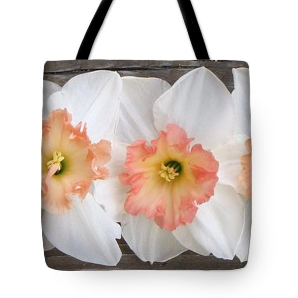 Tote Bag featuring the photograph Shades Of Pink by Michele Penner
