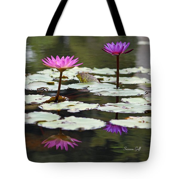Shades Of Purple  Tote Bag by Suzanne Gaff