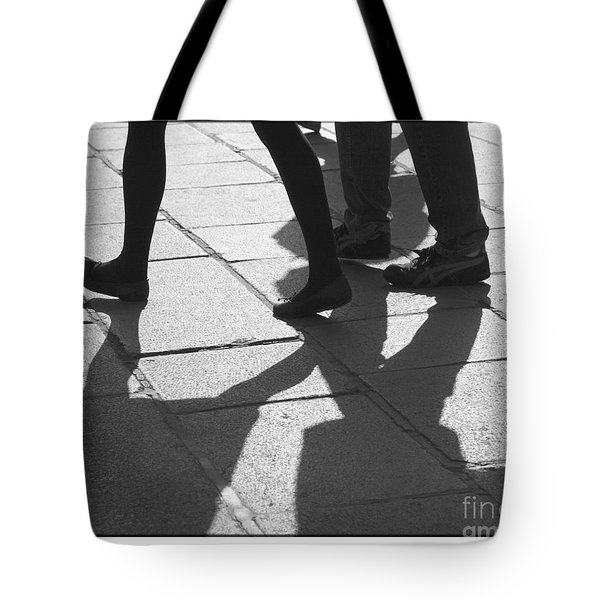 Tote Bag featuring the photograph Shadow People by Victoria Harrington