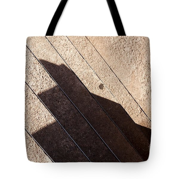 Shadow Stair Tote Bag
