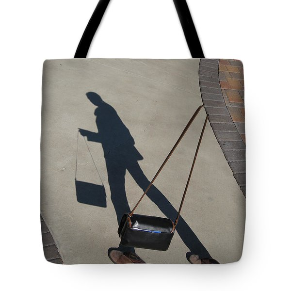 Shadowing Me Tote Bag by Nikki Marie Smith