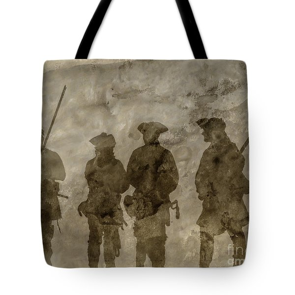 Shadows Of The French And Indian War Tote Bag by Randy Steele