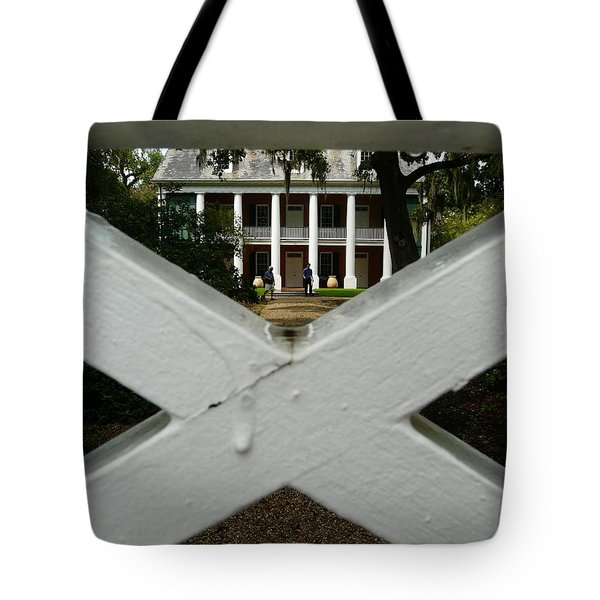 Shadows X On The Teche  Tote Bag by Rdr Creative