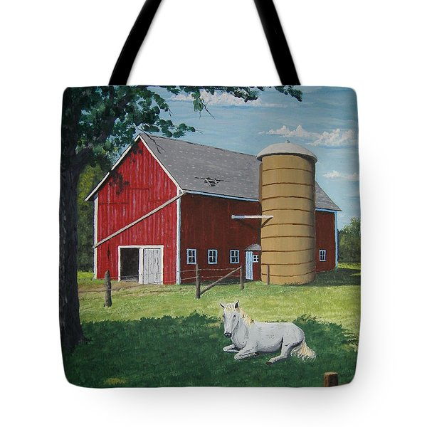 Shady Rest Tote Bag by Norm Starks