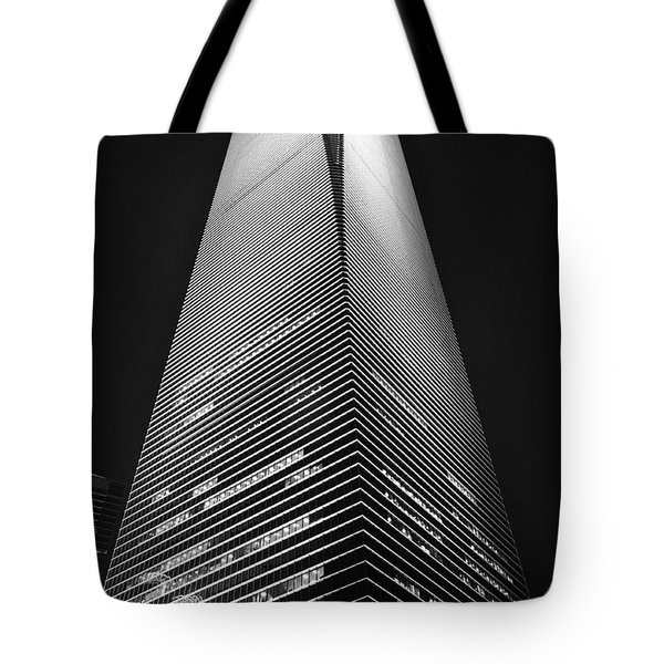 Shanghai World Financial Center Tote Bag